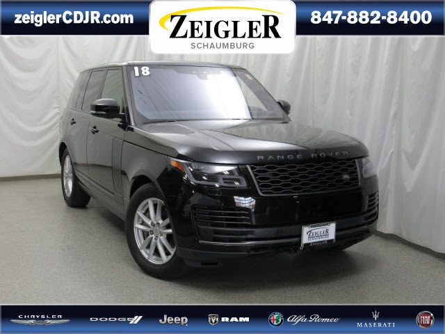 Pre-Owned 2018 Land Rover Range Rover 3.0L V6 Supercharged