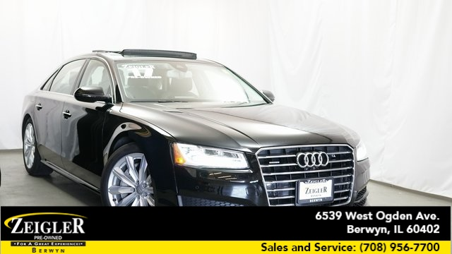 PreOwned Audi A L T D Sedan In Schaumburg A - Audi pre owned