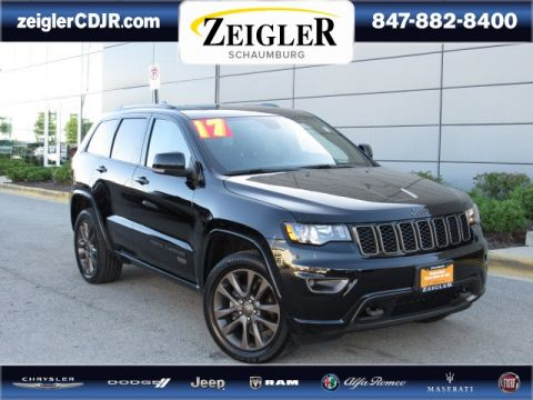 Certified Pre-Owned 2017 Jeep Grand Cherokee Limited