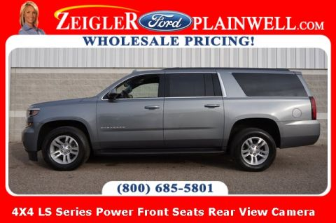 Pre-Owned 2018 Chevrolet Suburban LS