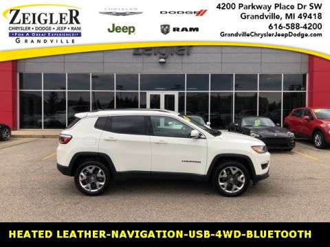 Certified Pre-Owned 2019 Jeep Compass Limited