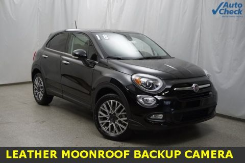 Certified Pre-Owned 2018 FIAT 500X Lounge